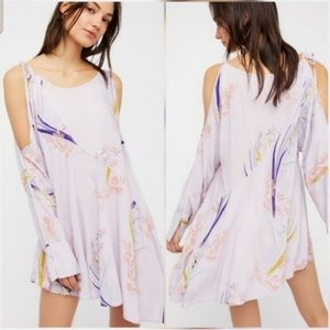 Free People Lilac Clear Skies Tunic